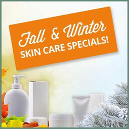 Late Summer Skin Care Specials